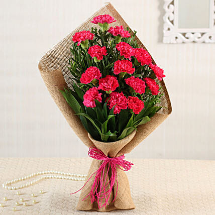 Buy Online Carnations Bouquet