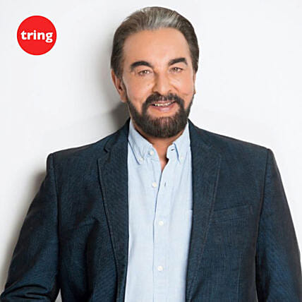 Kabir Bedi- Personalised Recorded Video Message