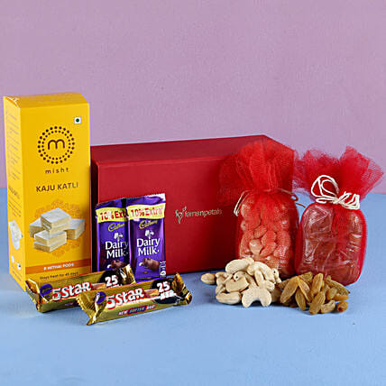 sweet hamper for festive diwali