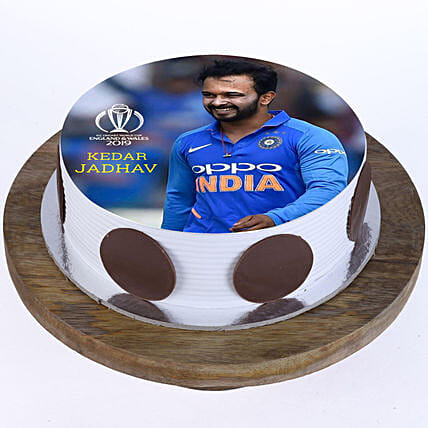 India cricket player photo cake online:Cricket World Cup Gifts