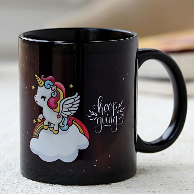 unicorn printed mug