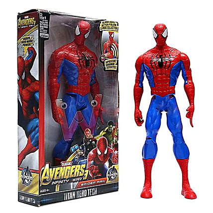Online Spiderman  Red:Kids Toys