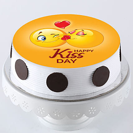photo cake for kiss day online