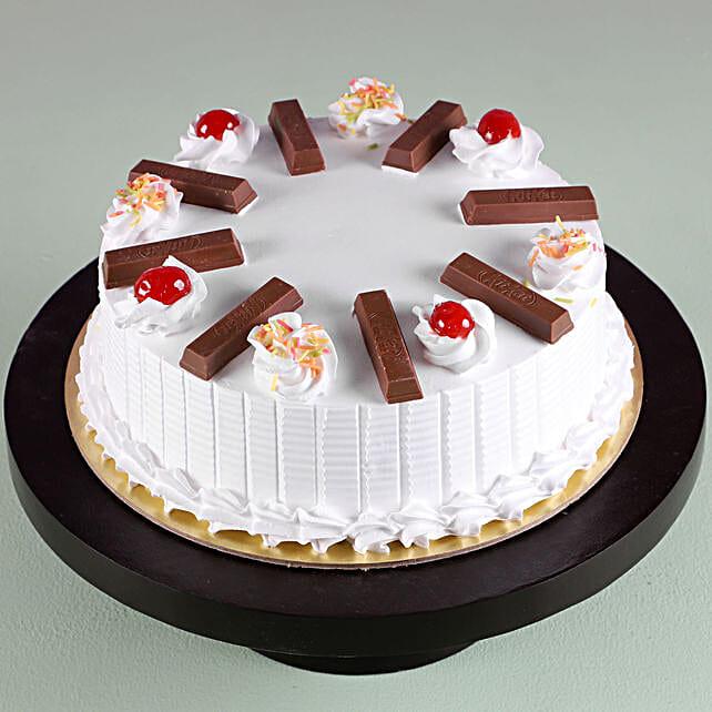 Online Kitkat Vanilla Cake