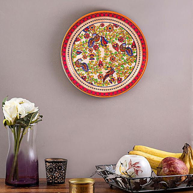 Kolorobia Kalamkari Finesse Home Decor Wall plate