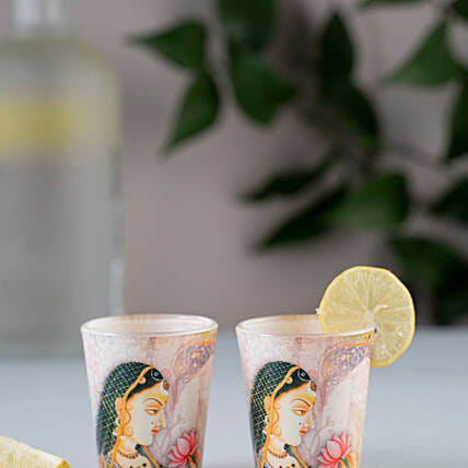 Kolorobia Royal Queen Shot Glass Set Of 2