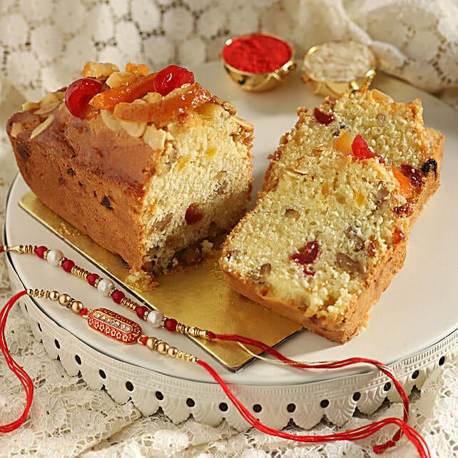 Rakhi Set & Fruit Tea Cake