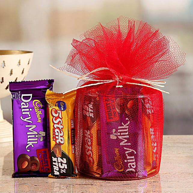 Online  Cadbury 5 Star And Fruit N Nut Gift Hamper