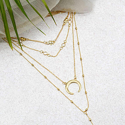 Boho Gold Necklace Online