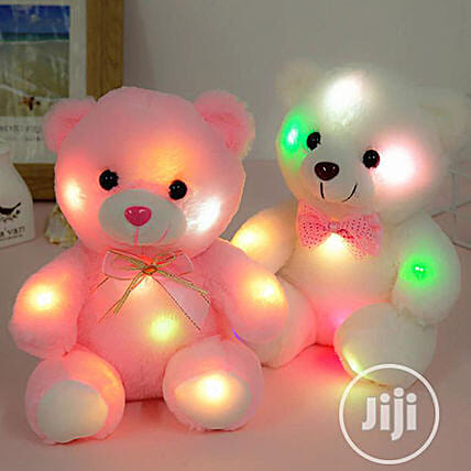 Cute LED Soft Teddy Bear:Soft Toys