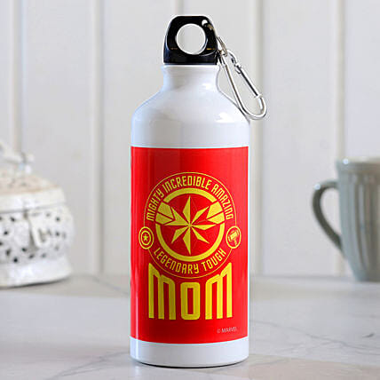 Legendary Mom Printed Water Bottle Hand Delivery
