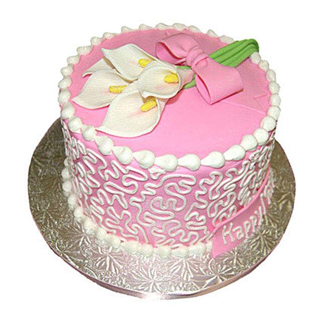 Lily Cake 1kg Vanilla