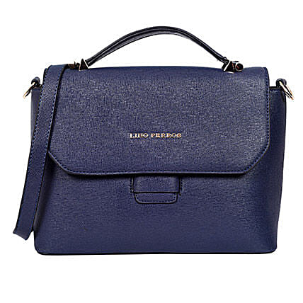 Blue Handpurse for Women