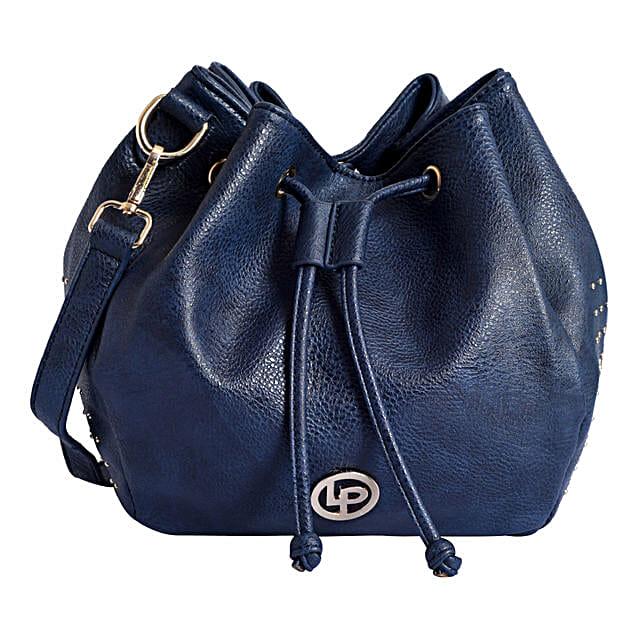 Blue Handbag for regular use