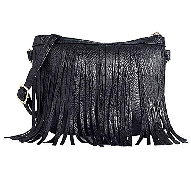 fringe sling bag Online