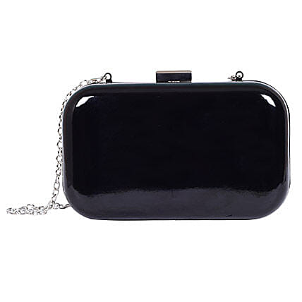 Black Hand Clutch Purse