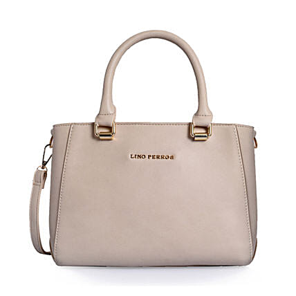 Beige Handbag for Her