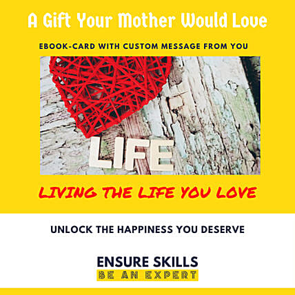 Cusomised Mother's Day E-book Card