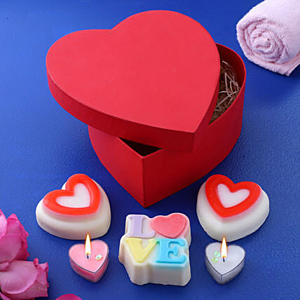 Love At First Sight Soap Candles Combo