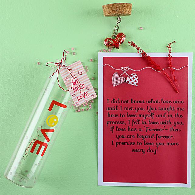 Love Message Bottle