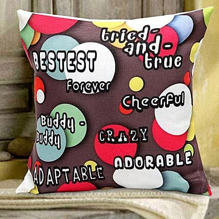 Love n Friendship Cushion:Romantic Gifts for Anniversary