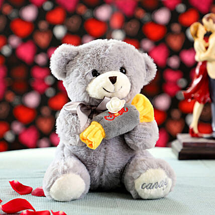 Mini Soft Toy For Wife Online:Thank You Soft toys