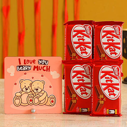Table Top & Kitkat Valentines Gift Combo