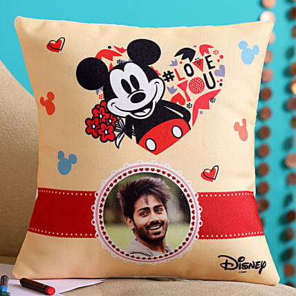 Love You Personalised Cushion Hand Delivery:Cushions for birthday