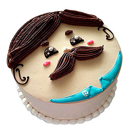 Lovely Designer Cake:Send Fathers Day Gifts to Mumbai