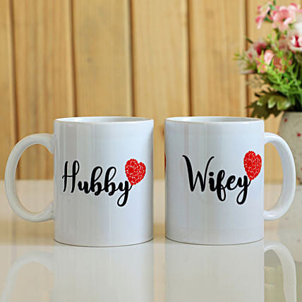 Printed Couple Mug Online