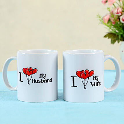 printed mug set for couple online