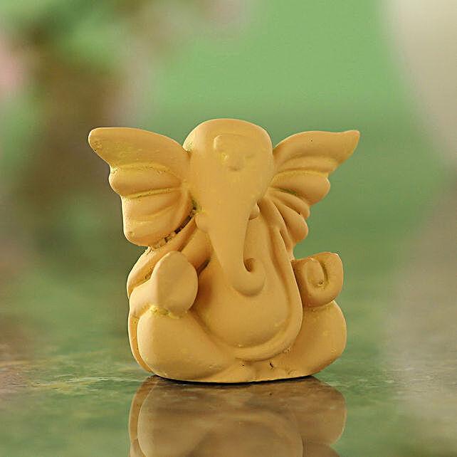 online Lucky Ganesha Idol- Beige