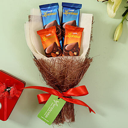 online chocolate for boyfriend:Luvit Chocolates