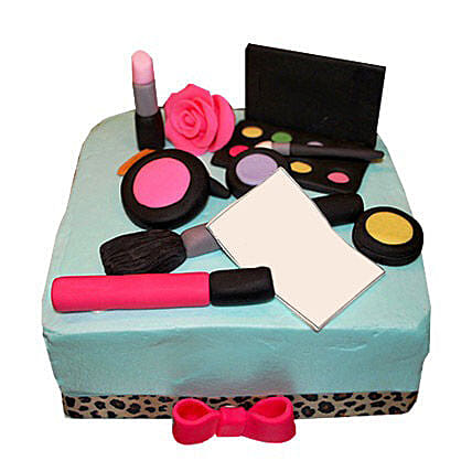 MAC Makeup Cake 3kg:Premium Cakes For Valentine's Day