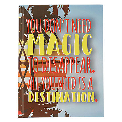 Online Magic Hardcase Notebook:Stationery Gifts