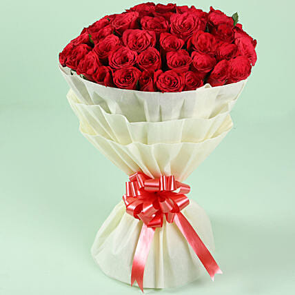 Exclusive Red Roses Bouquet Online:Premium Roses Delivery