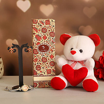 Make It Special Valentine Gift Set:Ilina Gift Sets