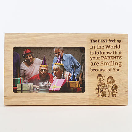 Photo Frame for Parents