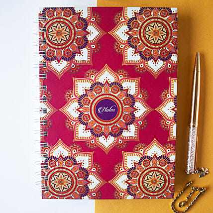 Mandala Notebook Fuchsia