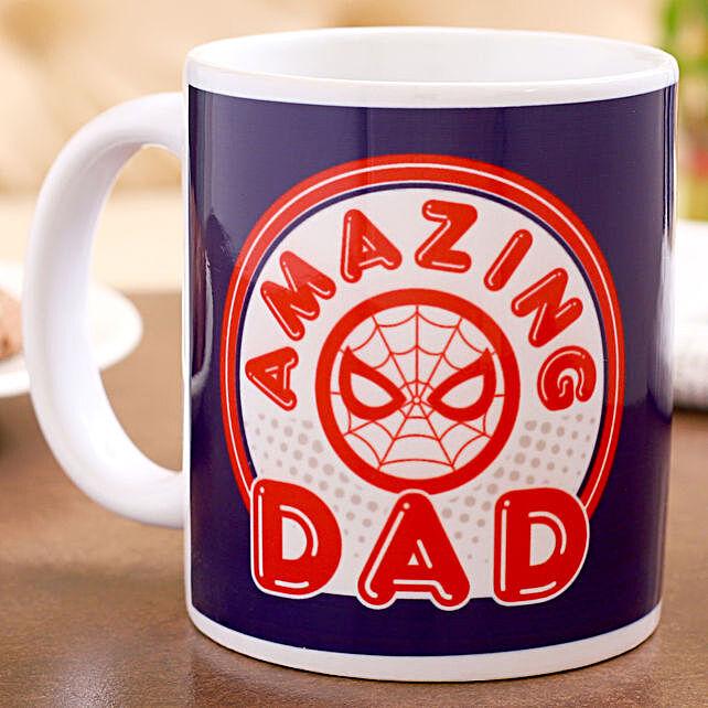 Marvel Amazing Dad Printed Mug Hand Delivery