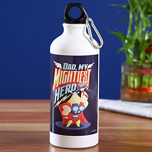 Marvel Dad My Mightiest Hero Bottle Hand Delivery