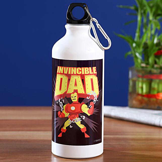 Marvel Invincible Dad Printed Bottle Hand Delivery