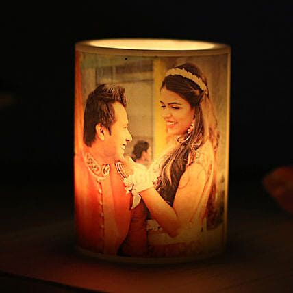 Me and You Personalized Candle-1 personalized candle:Gift Delivery in Mahe