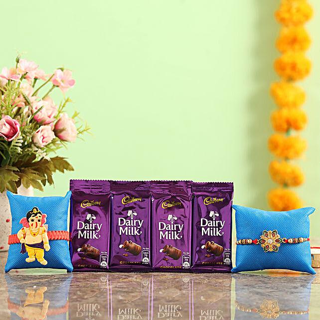 Rakhi With Chocolates Online