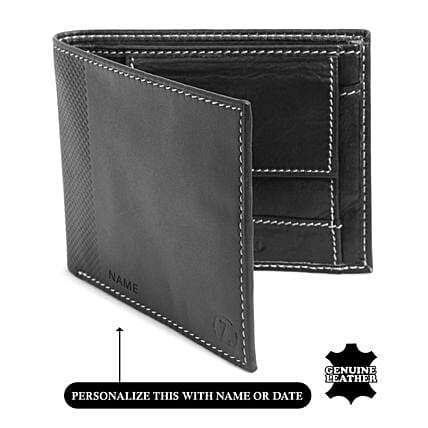 Online Men's Black Wallet