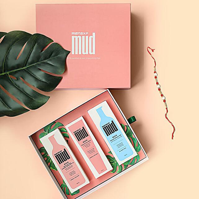 MensXP Mud Limited Edition Gift Box & Rakhi
