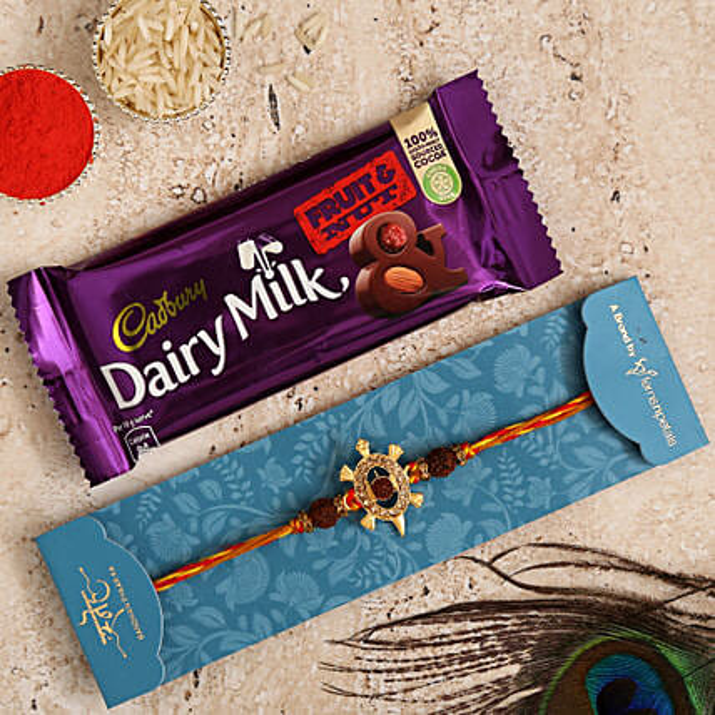 Meru Turtle Rakhi N Chocolates