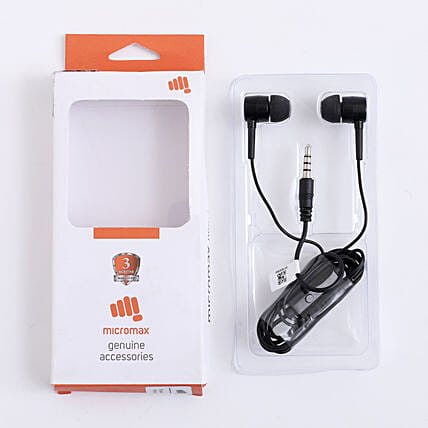 Micro Max Earphone