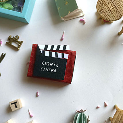 Miniature Theater Fridge Magnet Matchbox