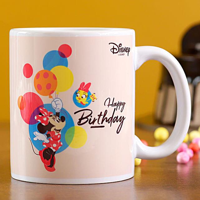 One White Printed Mug:Disney Gifts